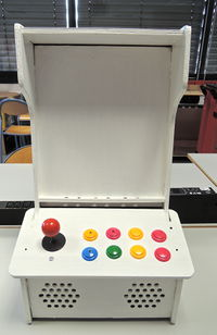 Arcade Cabinet for Tablets - air