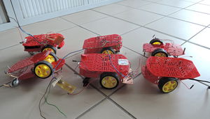 Magician Chassis for robotic arduino