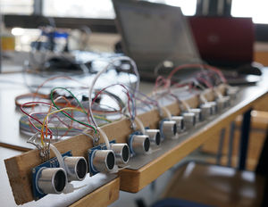 Hc Sr04 Ultrasonic Sensor Distance Measuring Module Air